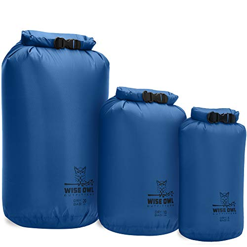 Wise Owl Outfitters Dry Bag 3-Pack