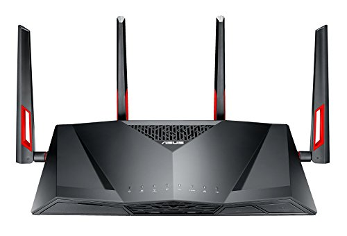 ASUS 114563 DSL-AC88U AC3100 Wi-Fi Gigabit Modem Router, G.fast/Vplus...