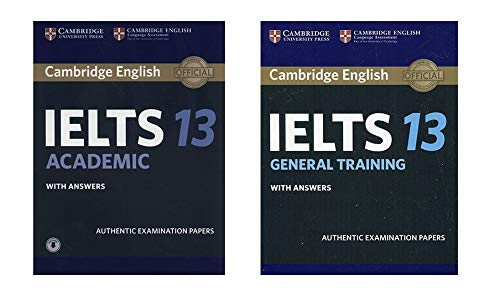 Cambridge English Ielts 13 Academic And General Training Book Combo With Answers Authentic Examination Papers