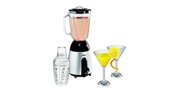 Princess Silver Lounge & Cocktail Blender, Vidrio, Plata, 400 MB/s ...