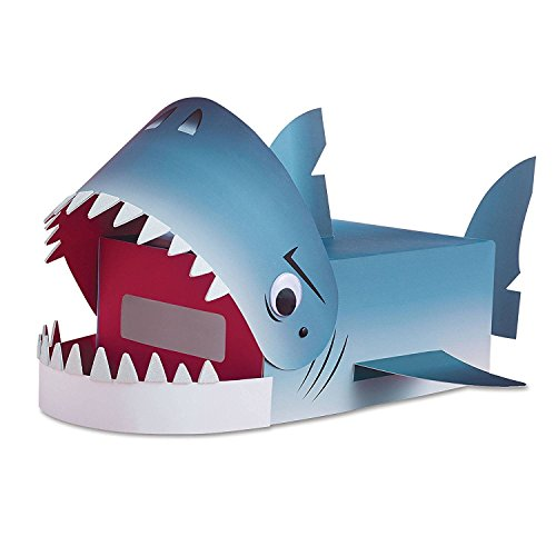 Valentines Day Mailbox Decorating Kit Shark