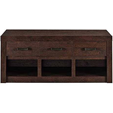 Altra Westbrook Storage Bench Dark Walnut