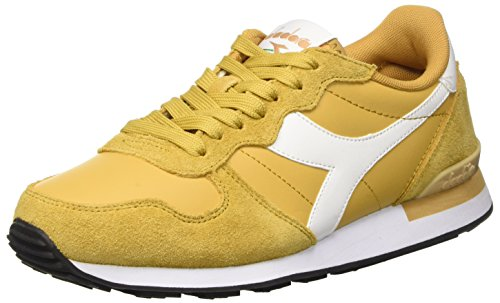 Diadora Camaro Leather, Men's Flatform Pumps Beige (Beige Farro/Bianco)