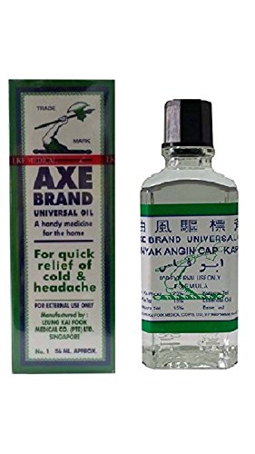 Axe Brand Medicated Universal Oil for Pain Relief of Cold and Headadche 56 Ml