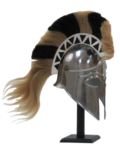 ITDC Greek Corinthian Armor Helmet with (Greek Sculpture Costume)