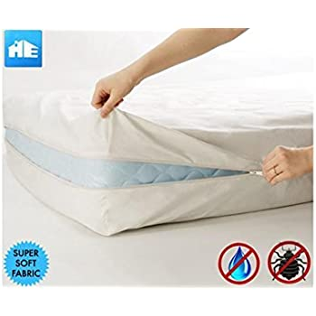 Ultimate Bed Bug Blocker Zippered Mattress Protector (King)