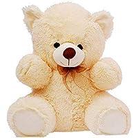ToyHub 2 Feet Super Soft Teddy Bear for Valentine,s Day/Birthday Gifts/Girls (Cream,60 cm)