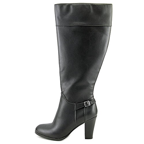 Bernini Women Black Boelyn US Calf Boot Giani High Wide Knee 11 qwp4dqIK