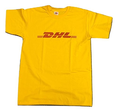 economico per lo sconto be79a 077d6 Blue Bagal Mens DHL T Shirt in Yellow - Buy Online in Oman ...
