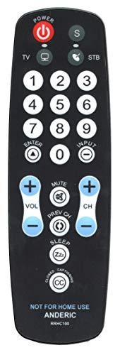 universal big button remote - 9