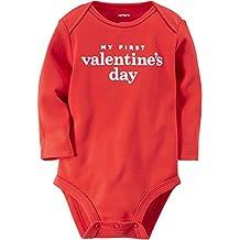 Carter's Baby Girls' My First Valentine's Day Bodysuit