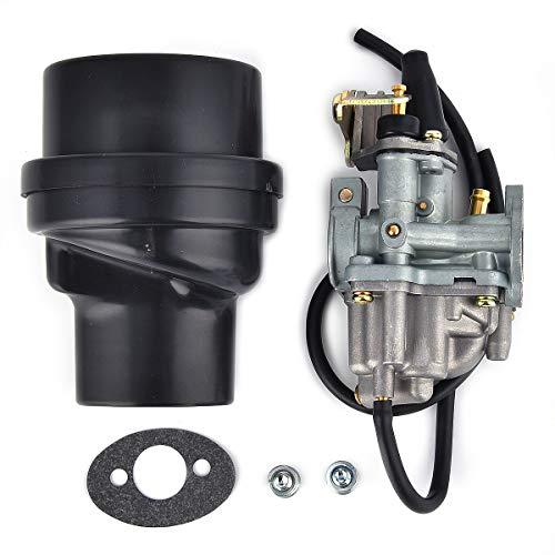 Carburettor Air Filter Box for LT 50 LT50 1984 1985 1986 1987 ATV Carb: