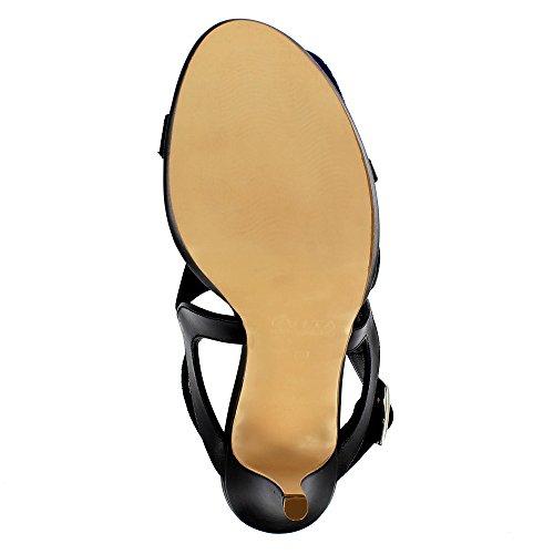Evita Schoenen Valeriaanzuur Vrouwen Sandalette Suede Zwart