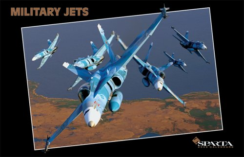Sparta Military Jets - Military Jets 2009 Deluxe Wall Calendar