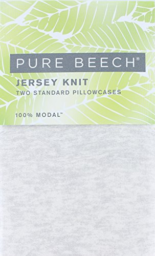 it Standard Size Pillowcases in a Natural Heather Color (Jersey Knit Standard Pillow Case)
