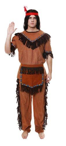 RED INDIAN MAN FANCY DRESS COSTUME  sc 1 st  Amazon UK & RED INDIAN MAN FANCY DRESS COSTUME: Amazon.co.uk: Toys u0026 Games