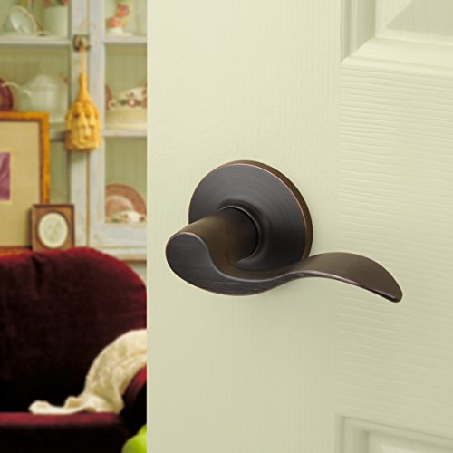Dynasty Hardware HER-82-12P Heritage Lever Passage Set, Aged Oil Rubbed Bronze, Contractor Pack (3 Pack) by Dynasty Hardware (Image #2)
