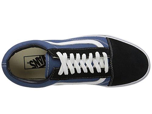 EU UA Herren Navy 47 Vans Old Skool Grau Sneaker a0w1qC5d