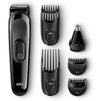 Amazon.com  Braun MGK3040 Men s Beard Trimmer for Hair Head Trimming ... 759f35ad8f