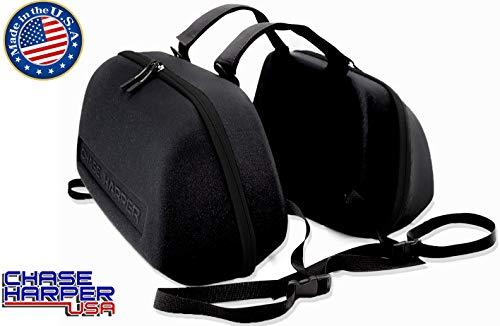 Chase Harper 3100MCM Black Stealth Saddle Bag - 36.5 Liters