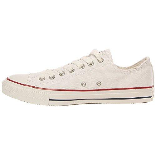 Converse Chuck Taylor All Star Ox, Zapatillas de Gimnasia para Hombre Bianco