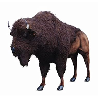 Life Size Ride-On Standing American Buffalo Stuffed Animal