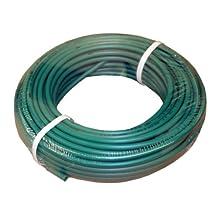 "ATP IMBIBE NSF 61 Polyethylene Plastic Tubing, Green, 3/8"" ID x 1/2"" OD, 100 feet Length"