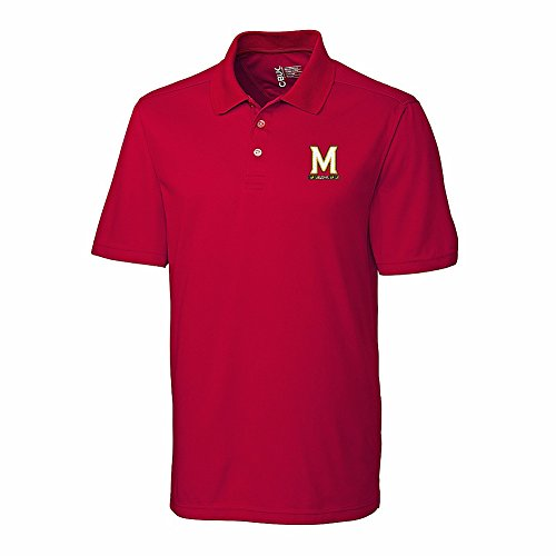 Maryland Golf Shirts (Maryland Terrapins Polo Shirt Red - L)