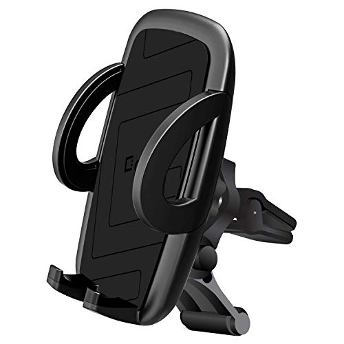 Cellet Smartphone Air Vent Car Mount Phone Holder, Atom Cloth Compatible with Samsung Galaxy Series (J7, J3, S10, S10+ Plus, S10 5G, A20, A30, A50, A70), iPhone Xs Max, iPhone XR, XS, Moto G7