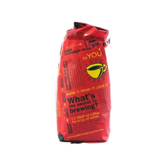 Whole bean organic coffee breakfast blend equal exchange 12 oz bag 2 equal exchange breakfast blend whole bean coffee (6x12 oz)