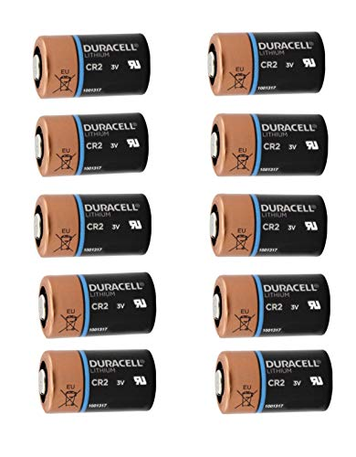 (Duracell Ultra CR2 3v Lithium Photo Battery DL-CR2 10 Pack)