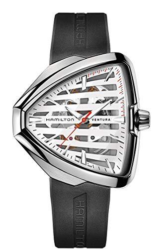 ساعت مچی مردانه همیلتون مدل H24555381 با بند سیلیکونی