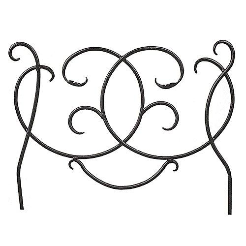 Scroll Border Fence Section Ornamental Metal Fencing