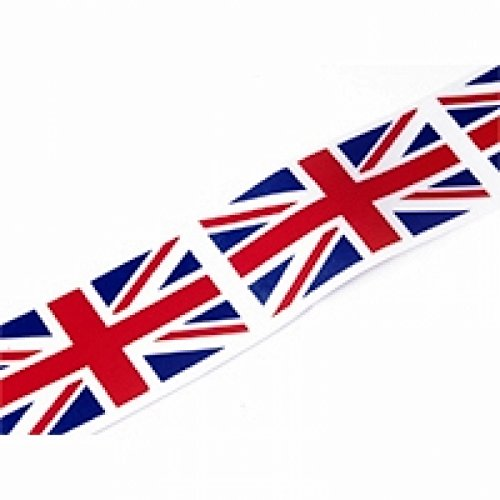 Minerva Crafts Patriotic Union Jack Acetate Ribbon - per 5 metres