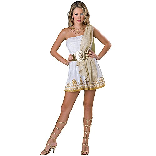 Totally Ghoul Goddess Costume, Teen Size Medium Ages 14+ (Costume Greece)