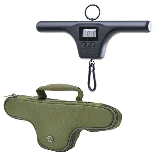 Wychwood Dual Screen T-Bar Digital Fishing Scales And Wychwood System Select Scales Pouch