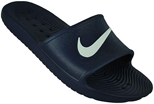 Nike Men's Kawa Shower Slide Sandals Midnight Navy/White Size 14 M ()