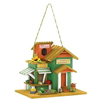 Gifts Decor Farmers Market Outdoor Vogelhaus Holz Outdoor Home
