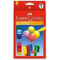 Faber-Castell 5068662120 Eğlenceli Jumbo Keçeli Kalem,12'Li, 12 Renk