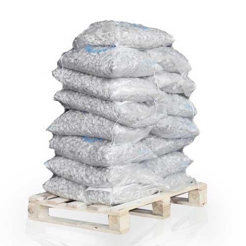 Granit Zierkies Granitsplitt Kiesel Dekor 16-22mm 20kg x 15 Sack 300kg Palette