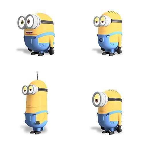 Despicable Me Minions 16GB USB Flash Drive : Dave, Kevin, Stuart, Bob -