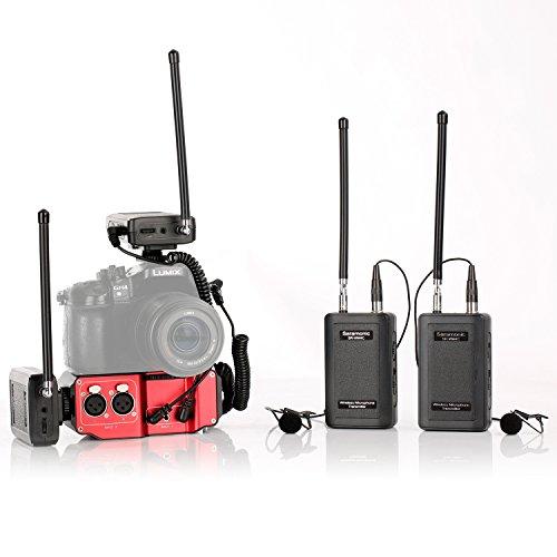- Saramonic Wireless VHF Dual Lav System Kit (with Premium Mixer)
