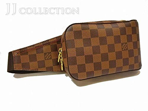 d713d34808ff Amazon | 【中古】ルイヴィトン ダミエ ジェロニモス ボディバッグ エベヌ N51994 | LOUIS VUITTON(ルイヴィトン) |  ウエストバッグ