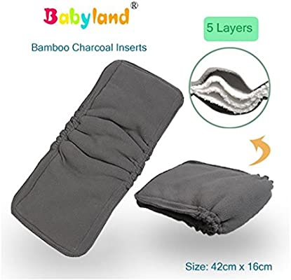 babyfriend * * 5 Pack de ahorro Boost * * Bamboo Charcoal ...