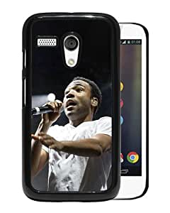 Provide Personalized Customized Childish Gambino Black Durable Motorola Moto G Phone Case