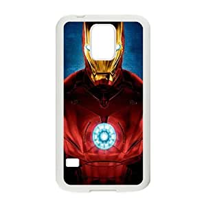 samsung galaxy s5 Case (TPU), iron man Cell phone case White for samsung galaxy s5 - YYTT7881400