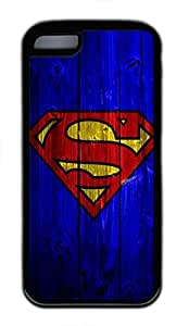iPhone 5C Case, iPhone 5C Cases - Durable Protective Black Soft Rubber Back Case for iPhone 5C Superman Logo 3 Utral Slim Soft Back Bumper Case for iPhone 5C by mcsharksby Maris's Diary