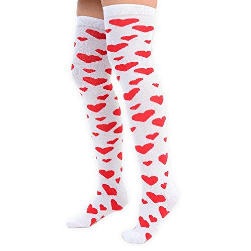 Los rom calcetines de Adam para Eesa corazones mujeres con de levantamiento 6vrq7xwv