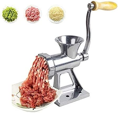 WZLJW Manual de Acero Inoxidable for Picar Carne, multifunción máquina de Picar Carne de la Carne con el Tubo Largo, Molienda Conjunto for el ensacado del Robot de Cocina ggsm: Amazon.es