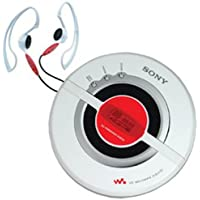 Sony D-EJ100PS Psyc Walkman Portable CD Player (White) (Discontinued by Manufacturer)